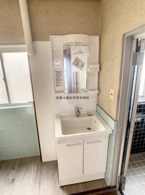 【洗面所】水押住宅
