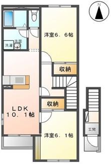 【間取り】《満室!》埼玉県大里郡寄居町大字富田一棟アパート