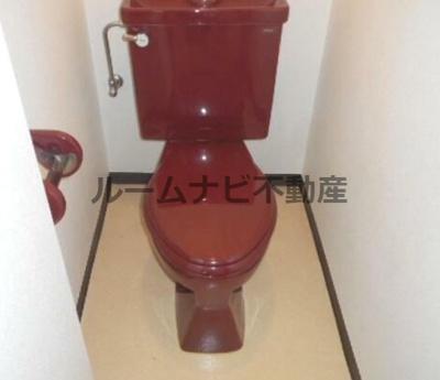 【トイレ】キャタデイマンション