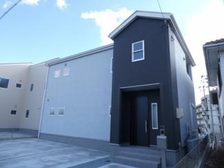碧南市東山町新築分譲住宅1号棟写真です。2021年10月撮影