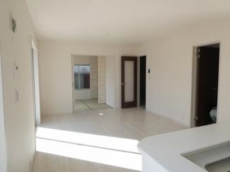 碧南市東山町新築分譲住宅1号棟写真です。2021年9月撮影