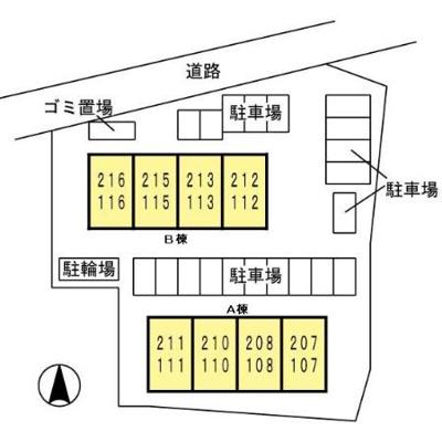 【外観】アンプルールA棟