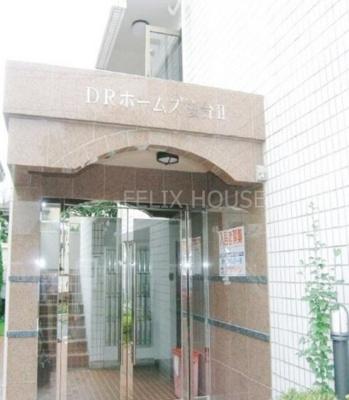 【エントランス】DRホームズ桜台Ⅱ