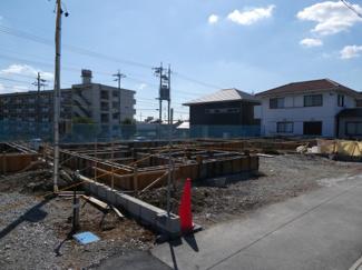碧南市東山町新築分譲住宅2号棟写真です。2021年10月撮影