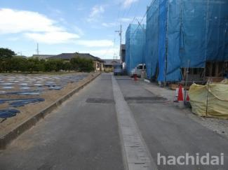 碧南市東山町新築分譲住宅3号棟写真です。2021年10月撮影