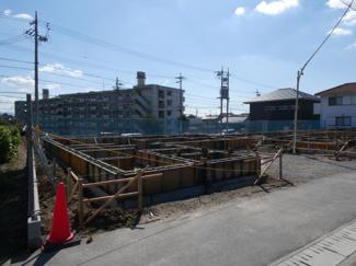 碧南市東山町新築分譲住宅3号棟写真です。2021年9月撮影