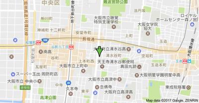 【地図】エレガントライフ