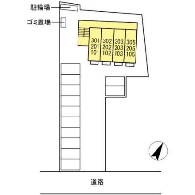 【区画図】グランドキャッスル橋塚