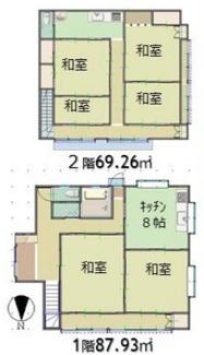閑静な住宅環境です。大型2世帯住宅。
