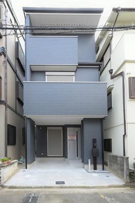【外観】堺市美原区南余部 新築戸建 家具付き