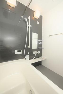 【浴室】堺市美原区南余部 新築戸建 家具付き