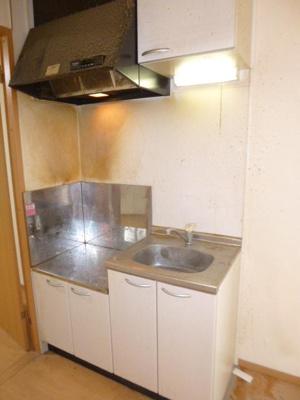 コンロ設置可能のキッチン