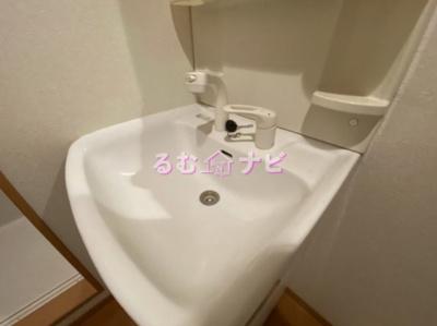 【洗面所】コンフォートベネフィス井尻7