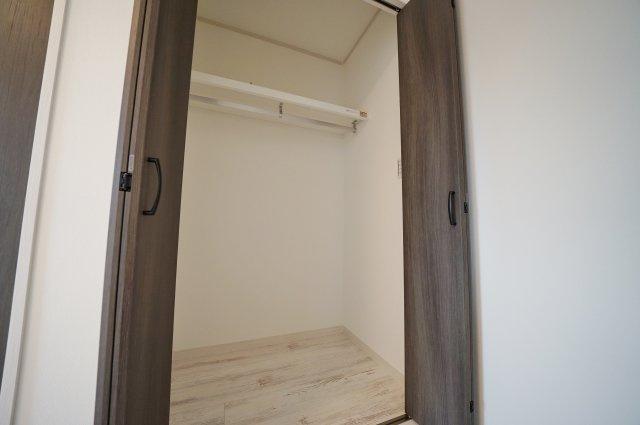 全居室収納付きでお部屋もすっきり