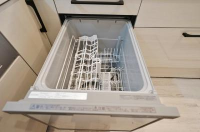 家事を助けてくれる食洗機付き