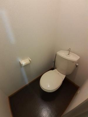 【トイレ】ツインハイツ青葉Ⅱ