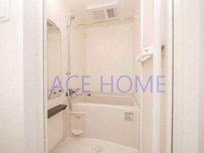 【浴室】プレサンス上町台クレスト