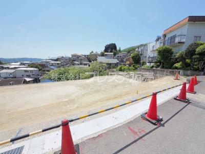 【外観】生駒市北新町の売地 全4区画