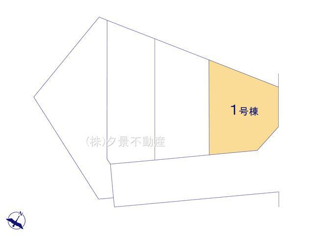 【区画図】大宮区三橋1丁目462-35(1号棟)新築一戸建てリーブルガーデン