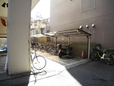【駐輪場】高田馬場ダイヤモンドマンション