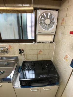 【キッチン】枚方市北中振3丁目中古テラスハウス