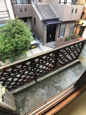 【バルコニー】枚方市北中振3丁目中古テラスハウス