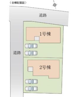 【区画図】高崎市上小塙町 KEIAI FiT 1期 1号棟