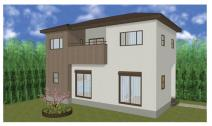 甲府市上石田新築戸建オール電化住宅・ウォークインクローゼットの画像