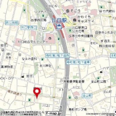 【地図】ブルジョン7