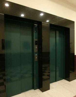 エレベーターを2基設置してあります。
