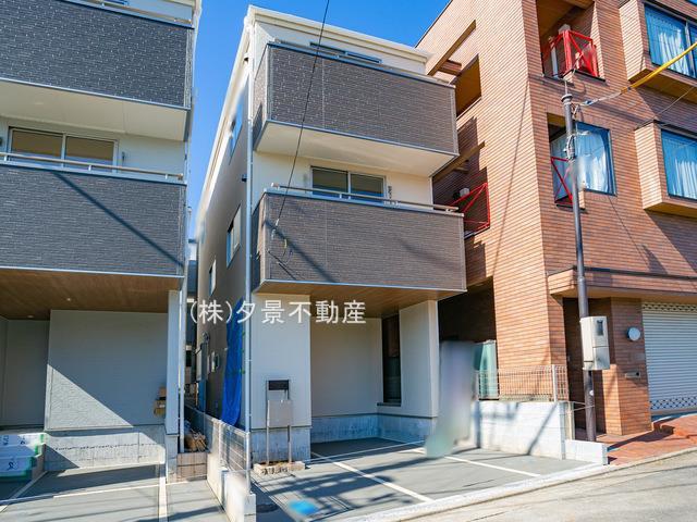 【外観】浦和区元町1丁目12-3全2戸1号棟 新築一戸建てリーブルガーデン