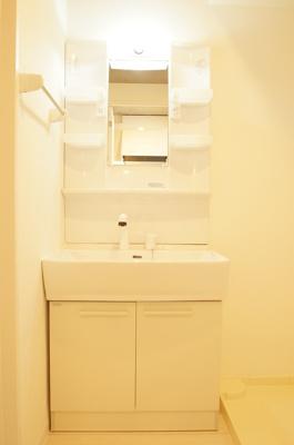 嬉しい独立洗面台