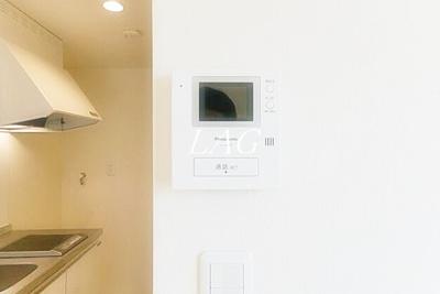 TVモニタ付インターホンです。