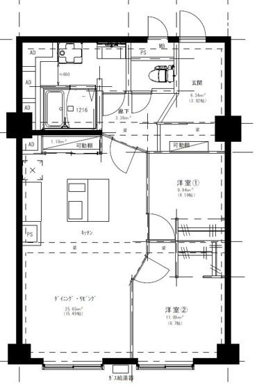7階建ての7階(最上階)、ペット不可