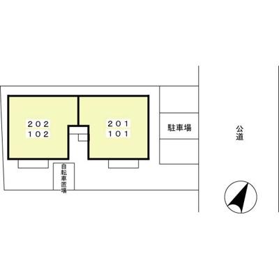 【駐車場】コート・マルカ