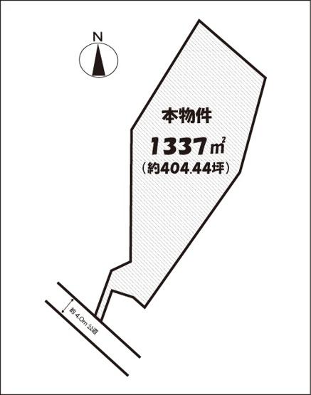 【土地図】所沢市荒幡売地