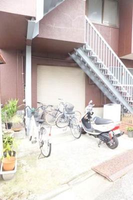 自転車駐輪可♪
