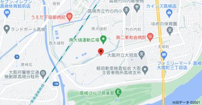 【地図】山昌マンション