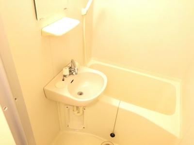 【浴室】レオパレスキャトル セゾン