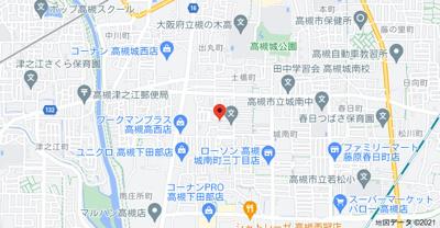 【地図】仮)D-room城南町1丁目