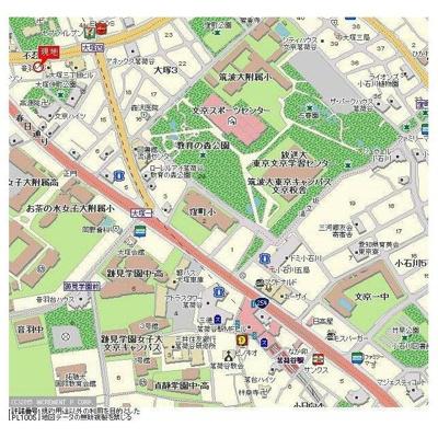 【地図】エクセリア茗荷谷