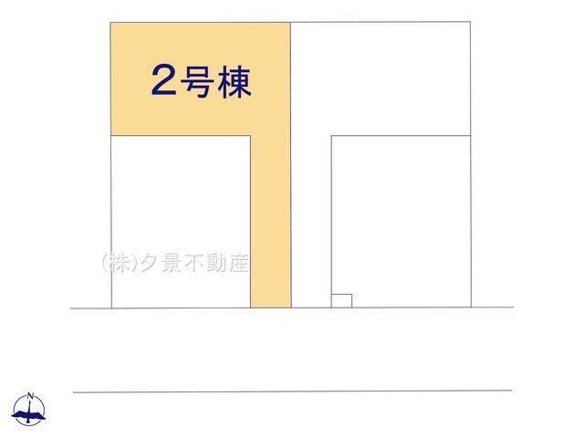 【区画図】岩槻区南平野4丁目11-19全4戸2号棟 新築一戸建てリーブルガーデン