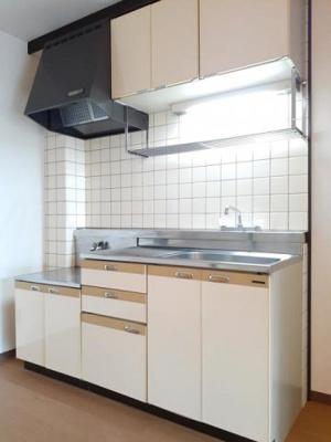 【キッチン】山角グリーンハイツ