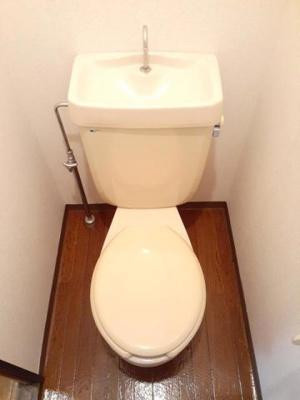 【トイレ】山角グリーンハイツ
