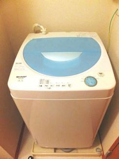 洗濯機付きで引越し楽々!