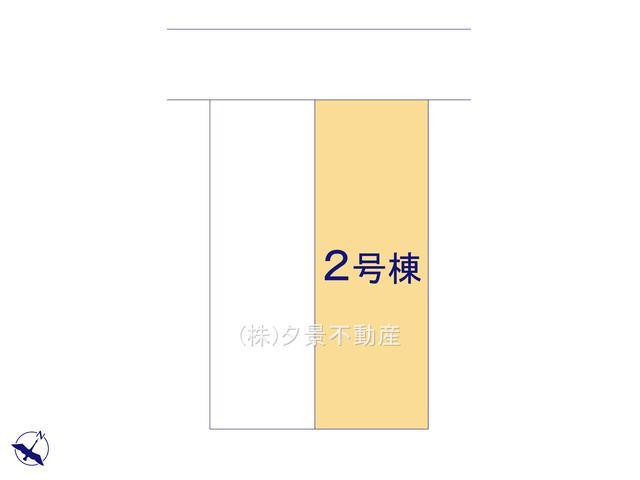 【区画図】浦和区領家1丁目1394-7(2号棟)新築一戸建てグラファーレ