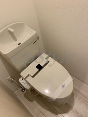 【トイレ】エルスタンザ四ツ木イースト