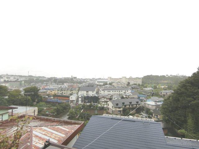 2階からの眺望。風通しも抜群です。