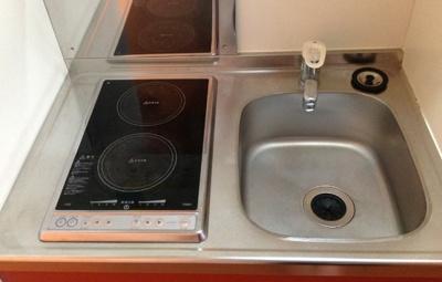 【キッチン】レオパレスグローⅠ