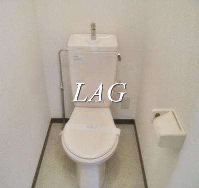 トイレになります。